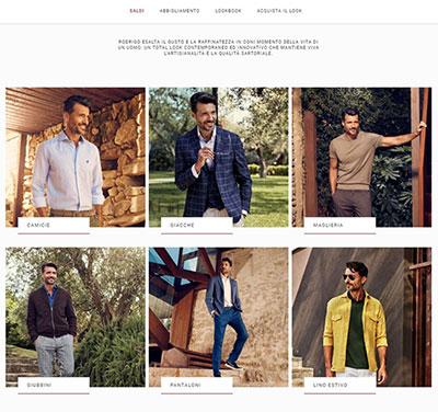 Rodrigo Story sito B2C